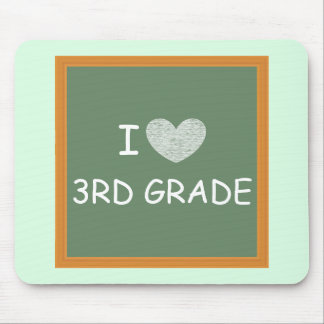 I Love 3rd Grade Mouse Pad