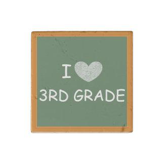 I Love 3rd Grade Stone Magnet