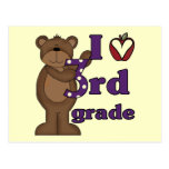 I Love 3rd Grade Tshirts and Gifts Postcard