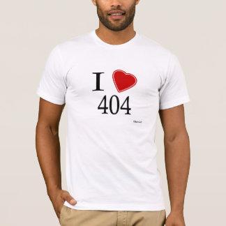 I Love 404 Atlanta T-Shirt