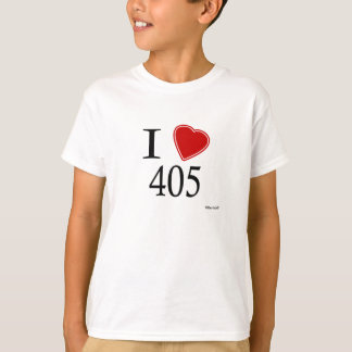 I Love 405 Oklahoma City T-Shirt