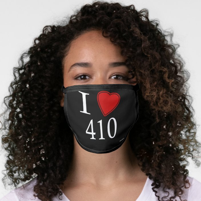 I Love 410 Annapolis Mask