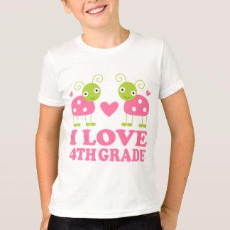 I Love 4th Grade Ladybug T-Shirt