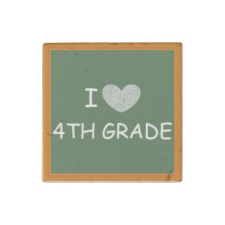 I Love 4th Grade Stone Magnet