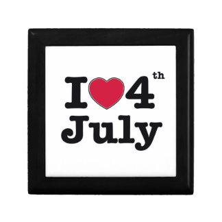 i love 4th july  my birtday trinket boxes
