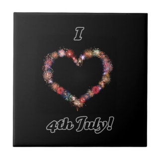 I love 4th of July home ware Tile