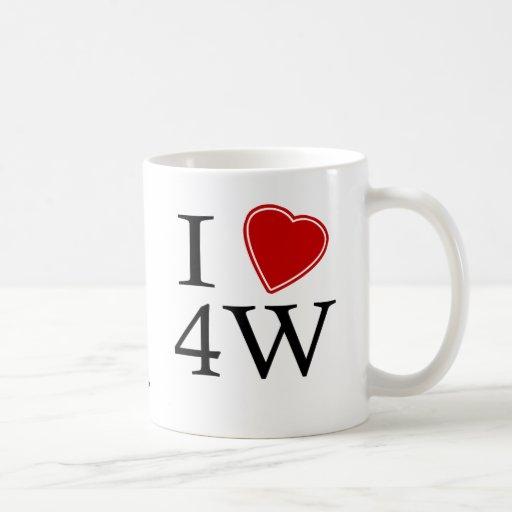 I Love 4th Ward Classic White Coffee Mug