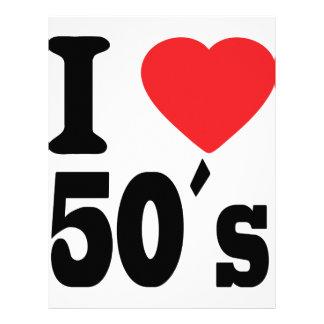 I love 50 ´s personalized letterhead
