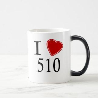 I Love 510 Hayward Magic Mug