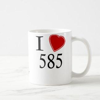 I Love 585 Rochester Coffee Mug