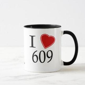 I Love 609 Trenton Mug