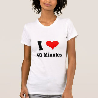 I love 60 minutes shirt