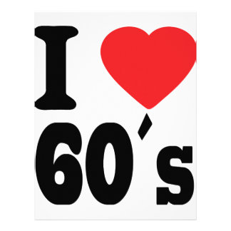 I love 60 ´s letterhead template