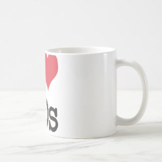 I Love 60s Vintage & Retro Designs! Coffee Mug