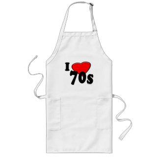 I Love 70s Apron