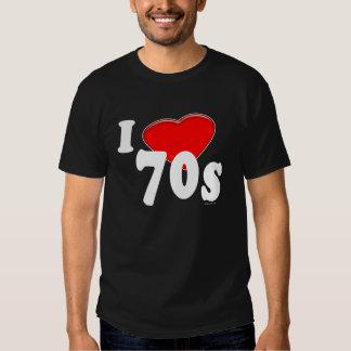 I Love 70s Dark T-Shirt