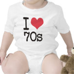 I Love 70s Products & Designs! Tee Shirt