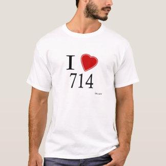 I Love 714 Anaheim T-Shirt