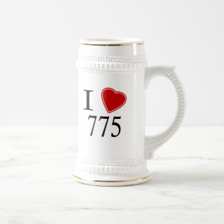 I Love 775 Carson City Beer Stein