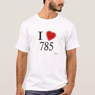 I Love 785 Topeka T-Shirt