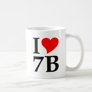 I love 7B Coffee Mug