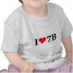 I love 7B lang Shirt