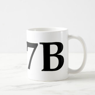 I love 7B long Coffee Mug