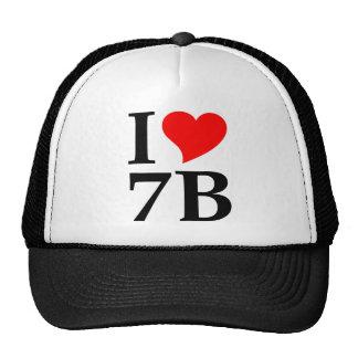 I love 7B Trucker Hats