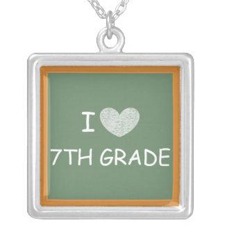 I Love 7th Grade Necklaces