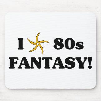 I Love 80s Fantasy Mouse Pad