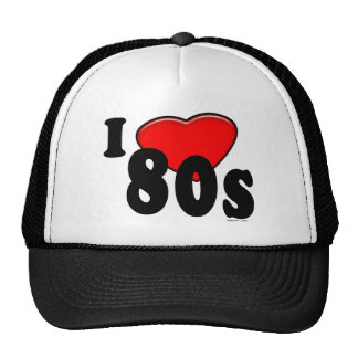 I Love 80s Hat