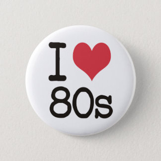 I Love 80s Products & Designs! Button