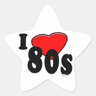 I Love 80s Sticker