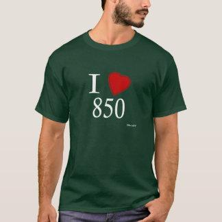 I Love 850 Tallahassee T-Shirt
