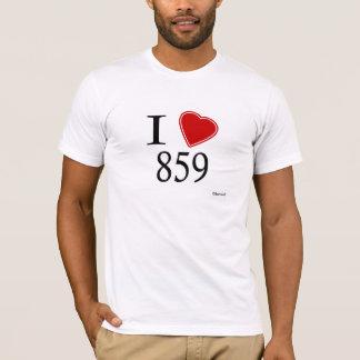 I Love 859 Frankfort T-Shirt
