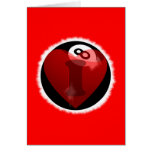 I love 8-ball greeting cards