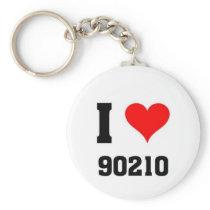 I love 90210 keychain