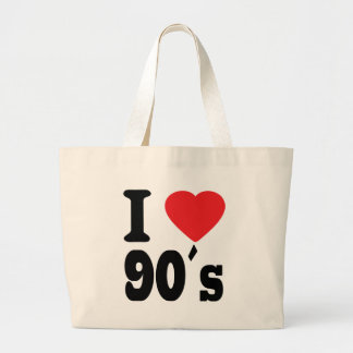 I Love 90 ´s Canvas Bag
