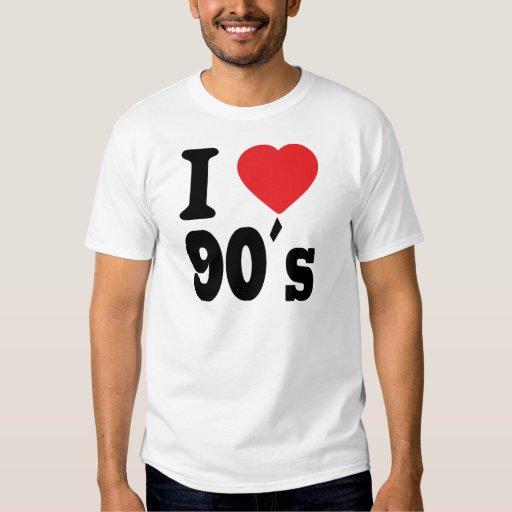 I Love 90 ´s T Shirts