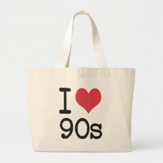 I Love 90s Products & Designs! Tote Bags