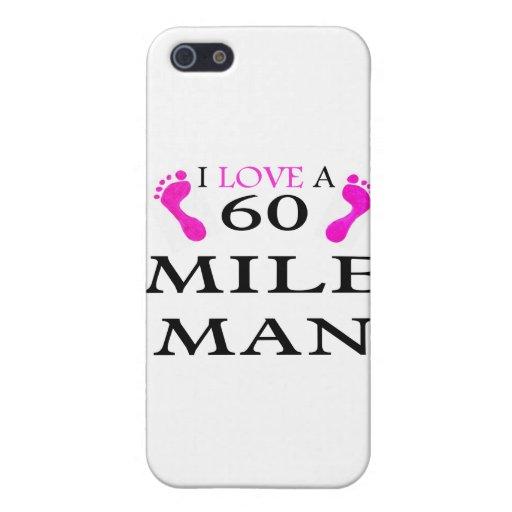 i love a 60 mile man 2 feet iPhone 5 cover