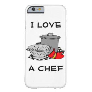 I Love A Chef iPhone 6 Case
