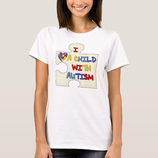 I Love a Child With Autism T-Shirt