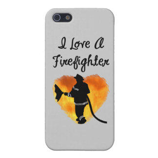 I Love A Firefighter Cover For iPhone SE/5/5s