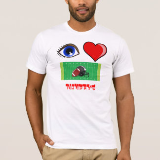 I LOVE A GAME OF FOOTBALL - FAN - MONDAY NIGHT T-Shirt