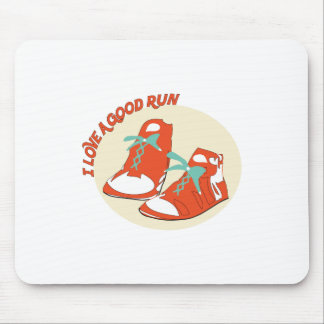 I Love A Good Run Mouse Pad