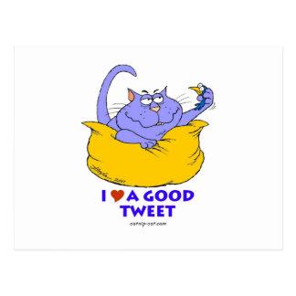 I love a good Tweet Postcard