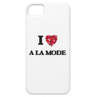 I Love A La Mode iPhone 5 Case