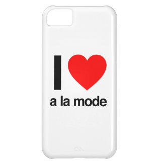 i love a la mode cover for iPhone 5C