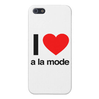 i love a la mode iPhone 5/5S cover